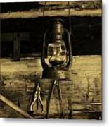 That Old Lantern Metal Print