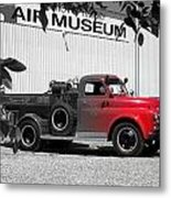 That Old Red Firetruck Metal Print