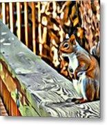 That Squirrel Metal Print