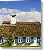 Thatched Country House Metal Print