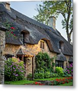 Thatched Roof - Cotswolds Metal Print