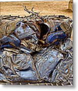 That's What Remains Of A Car Metal Print