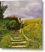 The 23 Steps On Parliament Hill Metal Print