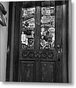 The 2nd Door Metal Print