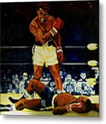 The 2nd Fight  Metal Print