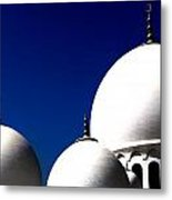 The 3 Domes Metal Print by Peter Waters