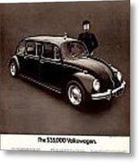 The 35000 Volkswagen Metal Print