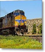 The 5789 Union Pacific Train Metal Print