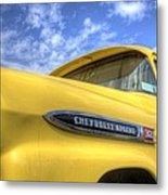 The 59 Yellow Apache Metal Print