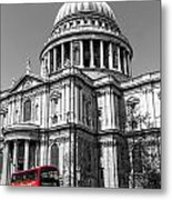 The 76 At St Pauls  Metal Print