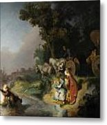 The Abduction Of Europa Metal Print