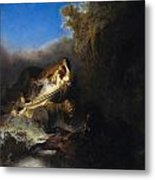 The Abduction Of Proserpina Metal Print