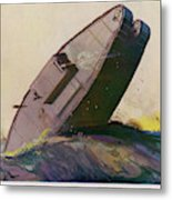The Ability Of The Tank To  Proceed Metal Print