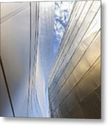 The Abstract Curves Of The Disney Concert Hall Metal Print