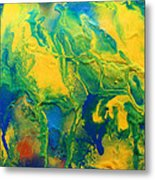 The Abstract Earth Metal Print