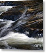 The Abstract Of Motion Metal Print