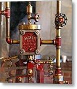 The Acme Steam Engine Metal Print