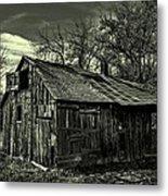 The Adirondack Mountain Region Barn Metal Print