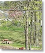The Advent Of Spring Metal Print