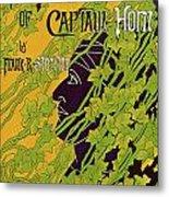 The Adventures Of Captain Horn 1895 Metal Print