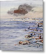The Aftermath Of The Lusitania Metal Print