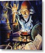 The Alchemist Metal Print
