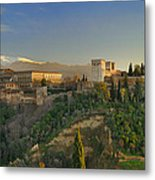The Alhambra Palace Metal Print