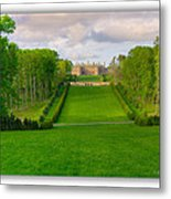 The Allee And The Castle Metal Print