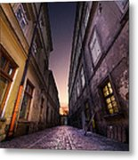The Alley Of Cracov Metal Print