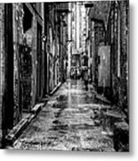 The Alleyway In Market Square - Knoxville Tennesse Metal Print