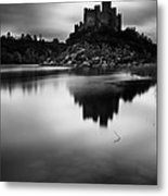 The Almourol Castle Metal Print by Jorge Maia