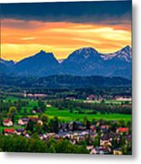 The Alps 01 Metal Print