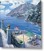 The Amalfi Coast Metal Print by John Zaccheo