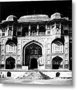 The Amber Fort Jaipur Metal Print