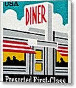 The American Diner  Metal Print
