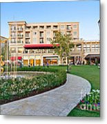 The Americana At Brand Outdoor Shopping Mall In California. Metal Print