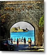The Ancient City Of Rhodes Metal Print