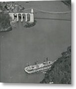 The Ancient Warship Goes A Ground Near The Mena I Metal Print