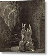 The Angel At The Sepulchre Metal Print