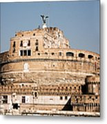 The Angel In The Fortress Metal Print