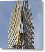 The Angel Of Bargoed 4 Metal Print