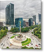 The Angel Of Independence, Mexico City Metal Print