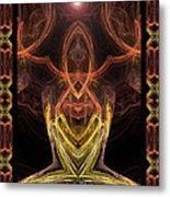 The Angel Of Meditation Metal Print