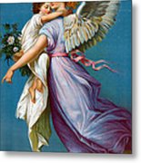 The Angel Of Peace Metal Print by B T Babbitt