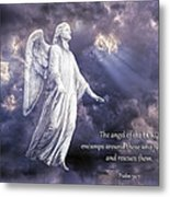 The Angel Of The Lord Metal Print