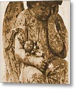 The Angel Virginia Metal Print