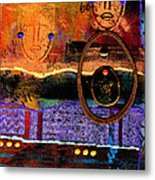 The Angels And The Star Metal Print