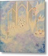 The Angels Choir A Celebration Metal Print