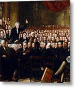 The Anti-slavery Society Convention 1840 Metal Print