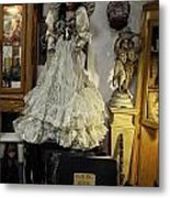 The Antique Doll Metal Print